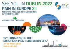 The situation surrounding COVID-19 is still fast-changing and ever-evolving. After careful consideration, the European Pain Federation EFIC has decided to postpone its 12th Congress in order to not only bring together the most recognized experts in the field of pain science but also provide a safe environment to all attendees. Mark your calendars and save the new date for Pain in Europe XII congress taking place in Dublin, Ireland on 27-30 April 2022.   WHY ATTEND #EFIC2022?      #EFIC2022 is the largest scientific congress on pain in 2022 #EFIC2022 shines a spotlight on current trends and future developments in pain medicine #EFIC2022 accommodates over 3500 international physicians and scientists #EFIC2022 enables you to share cutting edge research and network with distinguished experts in the field #EFIC2022 is the place for you to renew your knowledge and clinical management skills through refresher sessions #EFIC2022 prepares you for the European Diplomas in Pain Medicine and Pain Physiotherapy