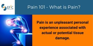 EFIC shares resources on pain