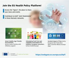 The SIP network and the European Commission are hosting a webinar on the Joint Statement and the related Framing Paper. Have your voice heard. Sign up now.