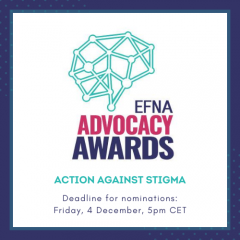 Is your organisation working to tackle stigma? Are you a patient advocate raising awareness of the issue? Nominations are now open for EFNA's Advocacy Awards 2021.