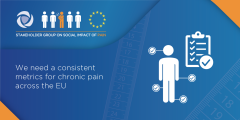 There is currently a data gap in how we measure and monitor the societal impact of pain across the EU. We want to change this!