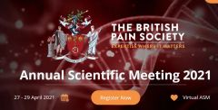 Why you should attend the ASM           The British Pain Society is delighted to invite all healthcare professionals with an interest in pain to attend their first-ever Virtual ASM!           The multidisciplinary nature of the Society is reflected throughout the scientific programme, with lecture and workshop topics chosen specifically to ensure there is something of interest to all our participants, whatever their specialty. They have secured an outstanding faculty of speakers from the UK, Europe, and USA, who are cutting-edge experts in their field. We look forward to our plenary speakers delivering thought-provoking lectures, with clear implications for practice. Join the event and you too can;            Keep up to date with the latest research and developments relevant to pain. Raise questions and partake in debates. View poster abstracts and liaise with authors about their research. Talk with technical exhibitors and hear about their products and services at their Virtual Booths. Through collaborative sessions interact with professionals from other disciplines with a shared interest in pain.  Find out more here.