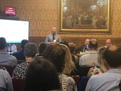 On the 25th of June 2019 the Chronic Pain Policy Coalition (CPPC) hosted a patient centric Pain Platform meeting at the House of Lords, to explore the burden of chronic pain in England, and how policy can be improved to support patient outcomes. The meeting was sponsored by The Rt Hon. the Lord Luce and hosted by the CPPC and financially supported by a grant from Grünenthal Ltd.  Attending the event were over 50 individuals from across the chronic pain policy landscape, including representatives from patient organisations, NHS England, clinicians, parliamentarians, government officials and industry. The CPPC will be writing up a full report of the event, which will carry forward the key themes and recommendations made by the Pain Platform's speakers and attendees. The report will be shared with the events' attendees and CPPC affiliates. It will also be shared on the CPPC website. Meanwhile you can find information here: https://chronicpainpolicycoalition.com/events/