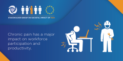 Chronic pain has a major impact on workforce participants and productivity and is not adequately acknowledged nor addressed by employers and policymakers. We want to change this!