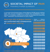 SIP Belgium has released a national SIP Joint Statement, explaining their goal to improve the (re)integration of pain patients in the workforce and society by developing and presenting multi-stakeholder recommendations to policy makers.