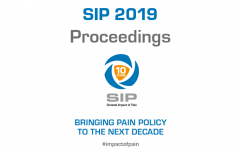 "Read the Proceedings of the 8th European symposium on the ""Societal Impact of Pain"" (SIP 2019) which took place on November 6-7, 2019 in Brussels, Belgium. The symposium entitled ""Bringing pain policy to the next decade"" marked the 10th anniversary of the SIP platform."